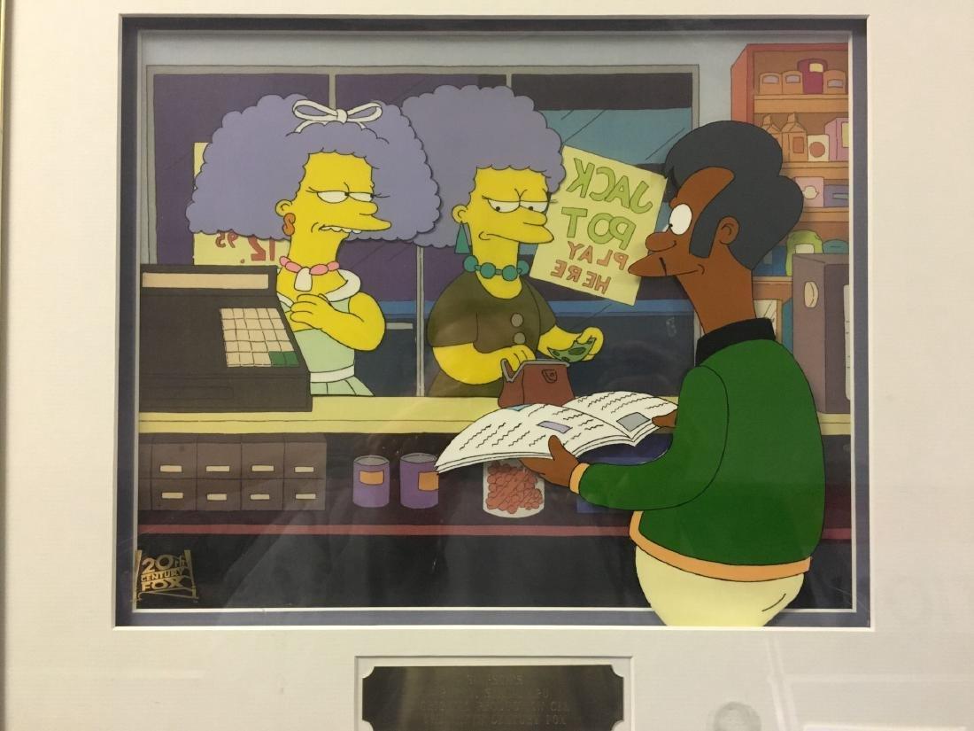 The Simpsons Production Cel - 2