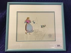 Disney Cinderella Serigraph Cel.