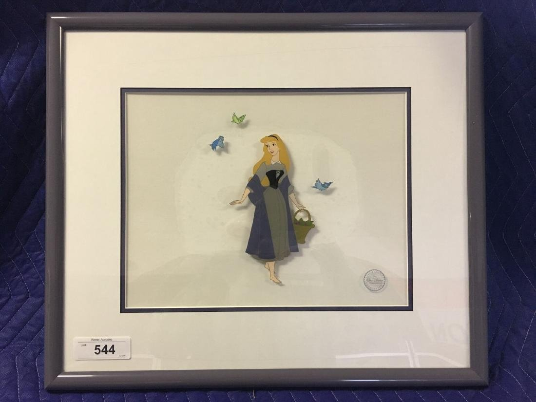 Disney Sleeping Beauty Serigraph Cel
