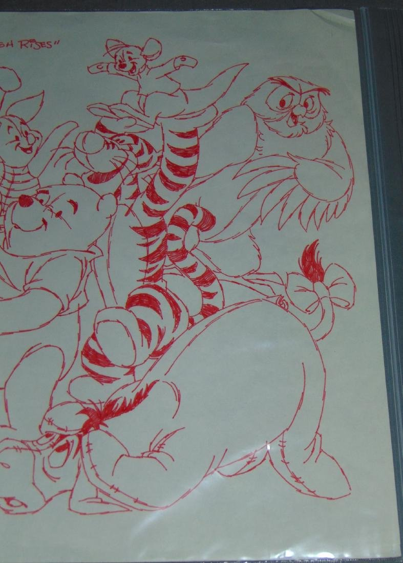 Winnie the Pooh & Friends Concept Drawing - 3