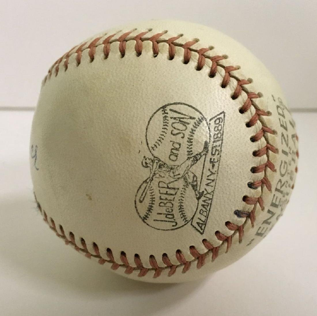 """A.C. """"Dazzy"""" Vance. Signed Baseball. - 2"""