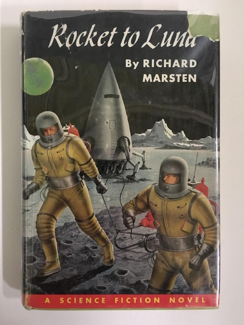 Rocket To Luna Marsten Signed