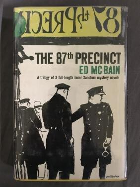 Ed McBain Signed 87th Precinct 1st Ed