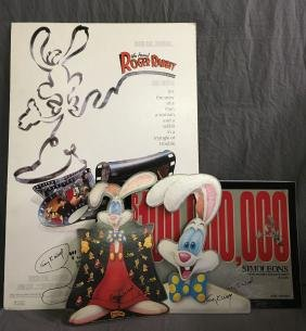(4) Roger Rabbit Signed Items