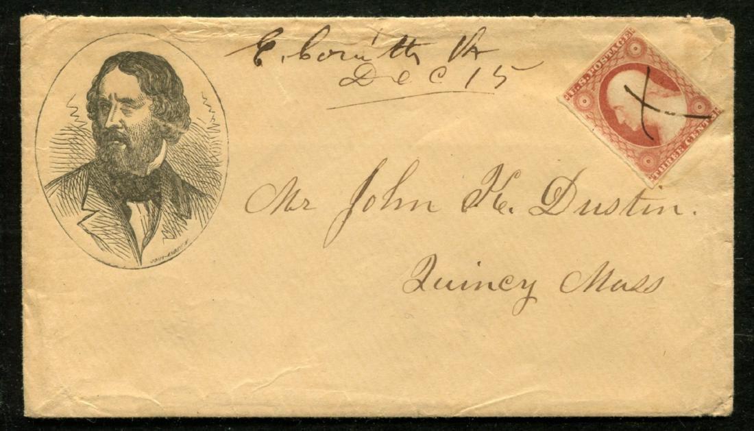 1856 J.C. Fremont Cover