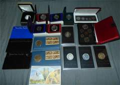 Mixed Coin Lot US and Canada