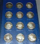 Franklin Mint Treasury of Presidential Medals.