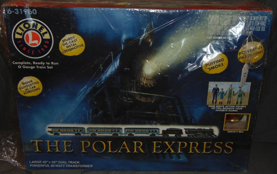 Lionel Polar Express Passenger Set.