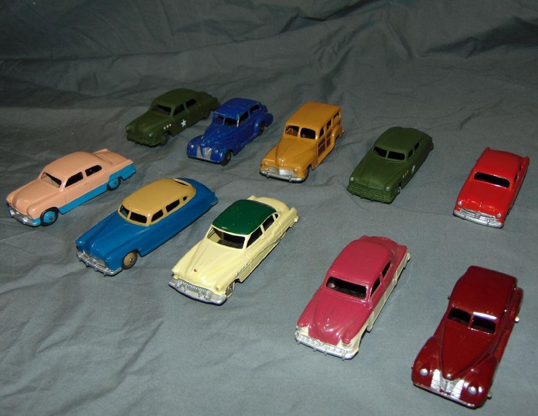Dinky Car Lot.