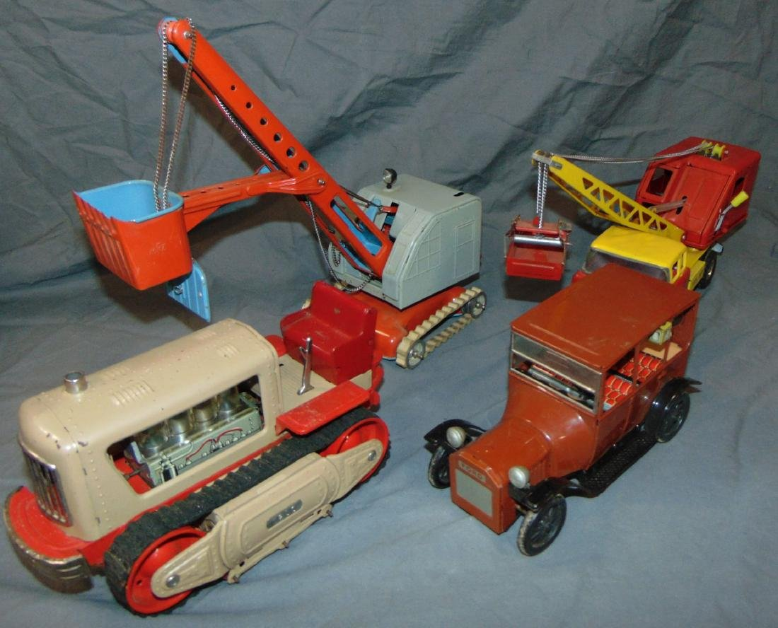 Toy Vehicles Lot of Four.