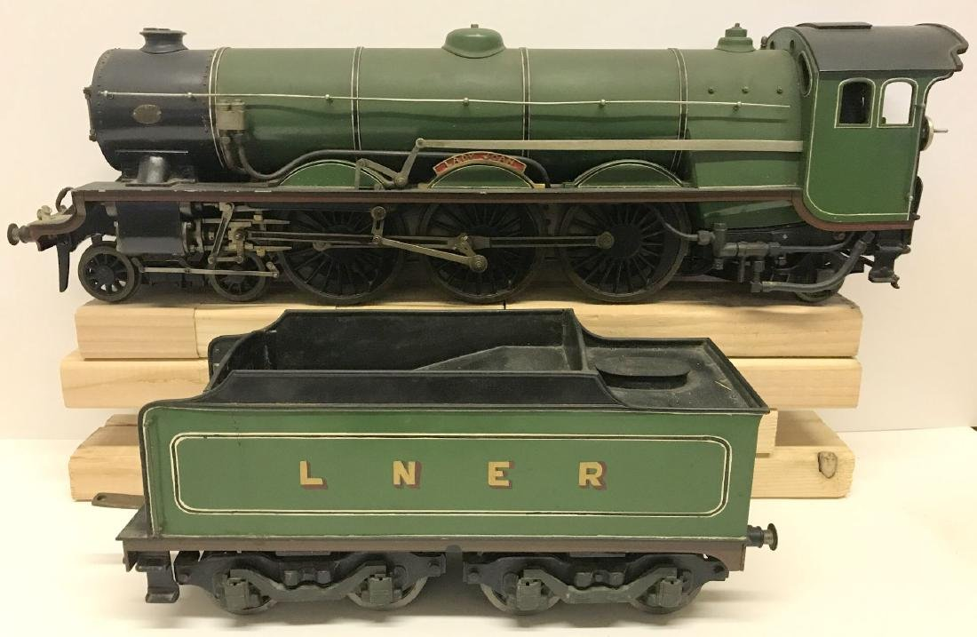 """Lady Joan Live Steam Engine and Tender, 40"""" Long"""