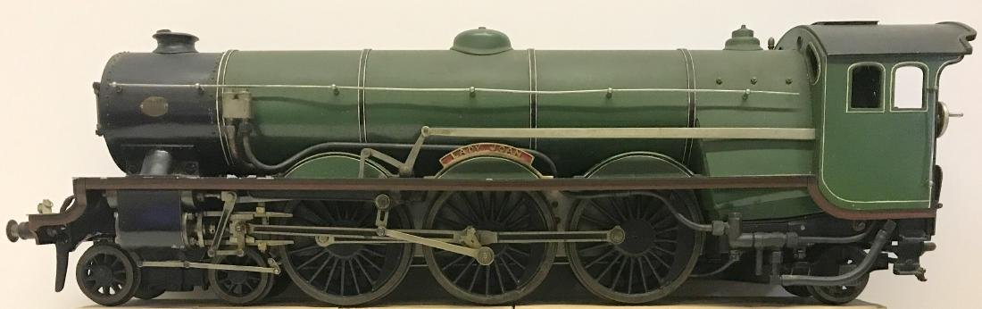 """Lady Joan Live Steam Engine and Tender, 40"""" Long - 4"""