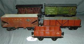 5 Marklin Gauge 1 Freight Cars