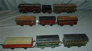 9 Marklin Gauge 1 Cars