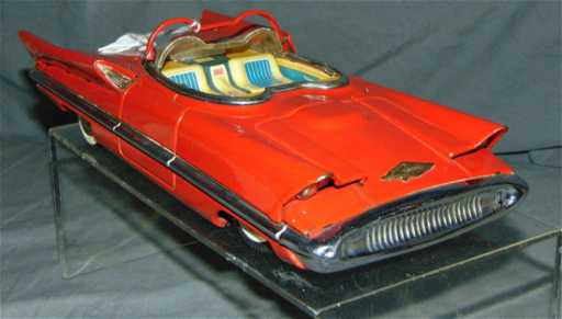 Japanese Alps Lincoln Futura Concept Car