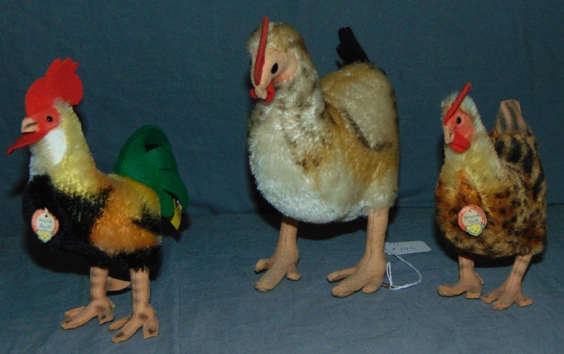 Steiff Chickens