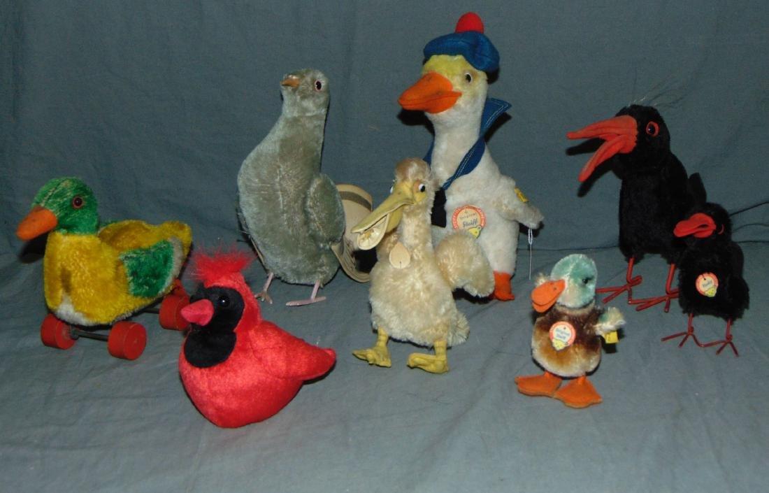 Lot of Steiff Birds.