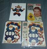 Vintage Superman Dangle Dandie Lot