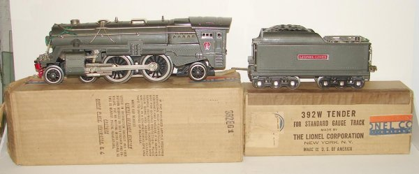 2021: LIONEL PRE WAR ENGINE & TENDER