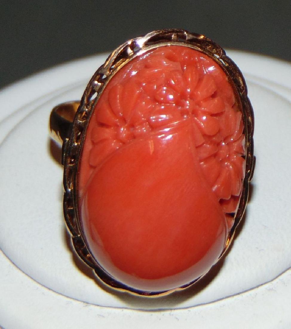 Salmon Coral Jewelry. - 3