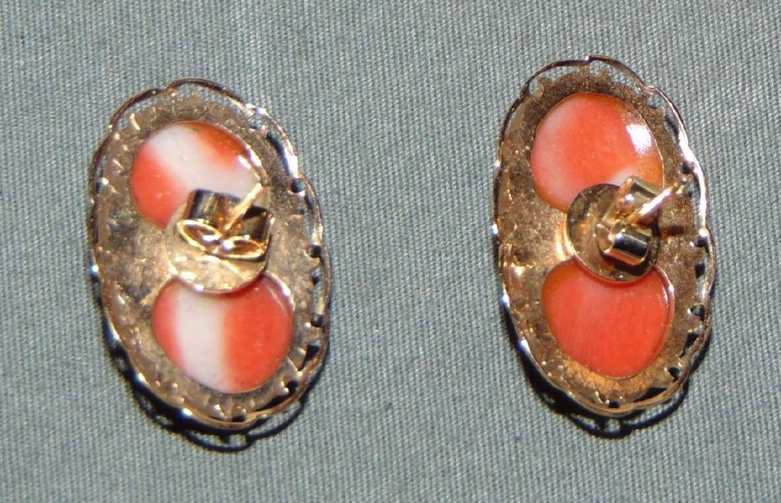 Salmon Coral Jewelry. - 6