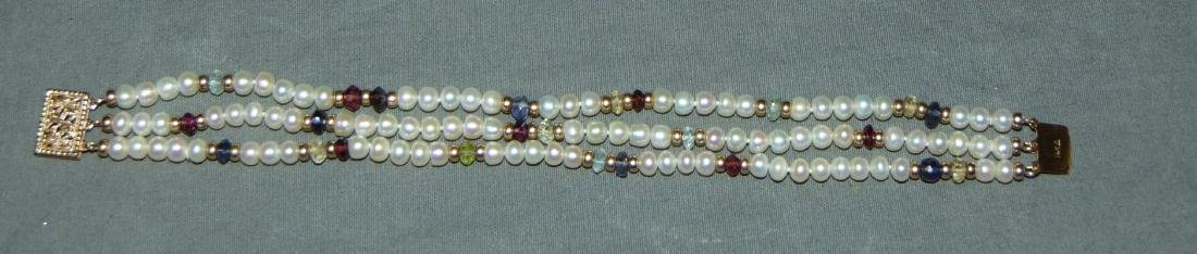 Pearls and Gold. - 2