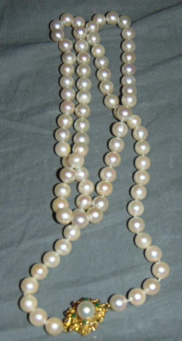 Pearls and Gold. - 5