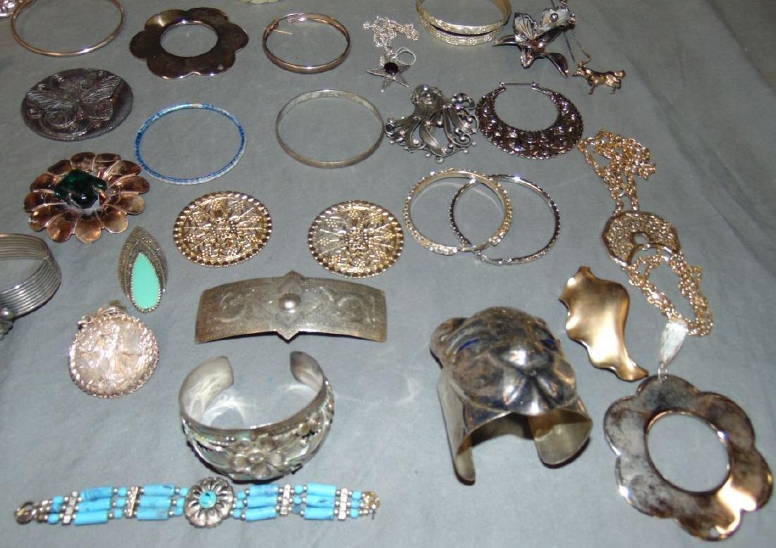 Huge Box of Costume Jewelry. - 2
