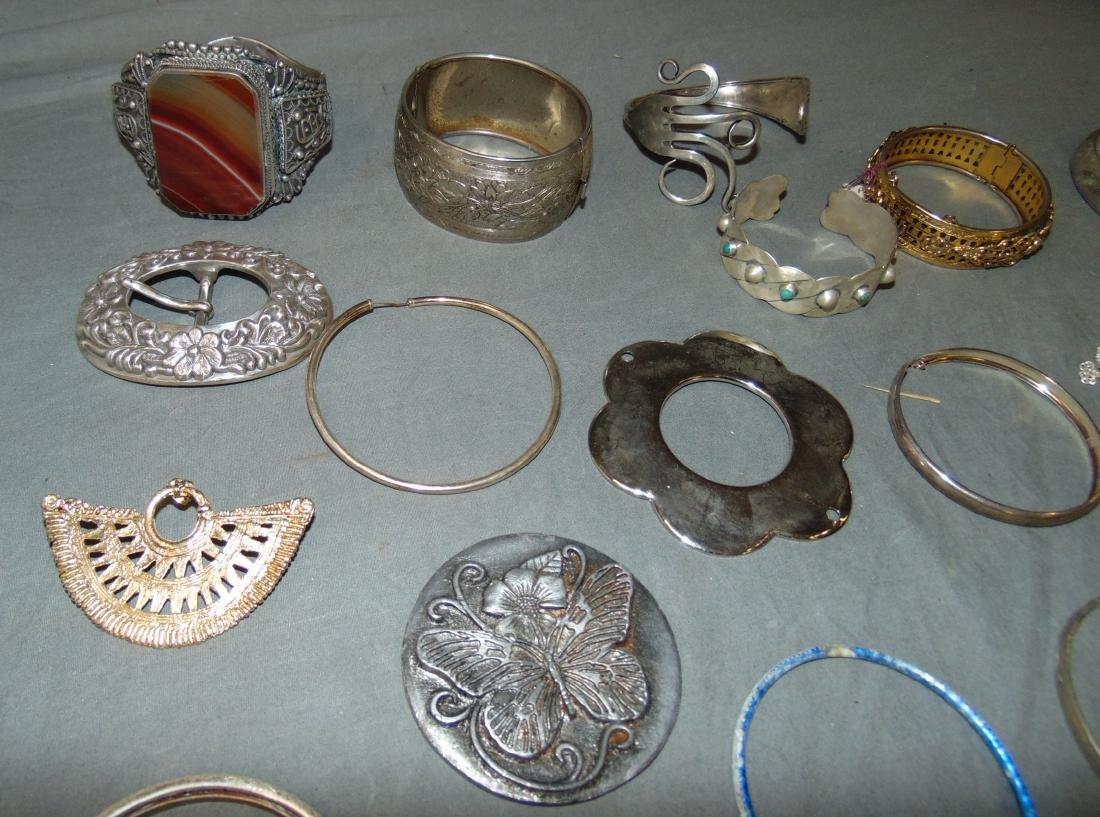 Huge Box of Costume Jewelry. - 4