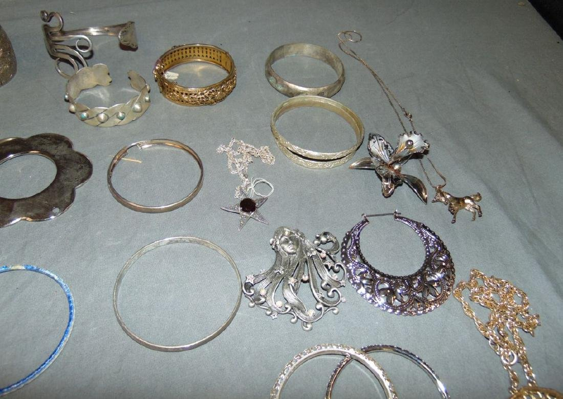 Huge Box of Costume Jewelry. - 5