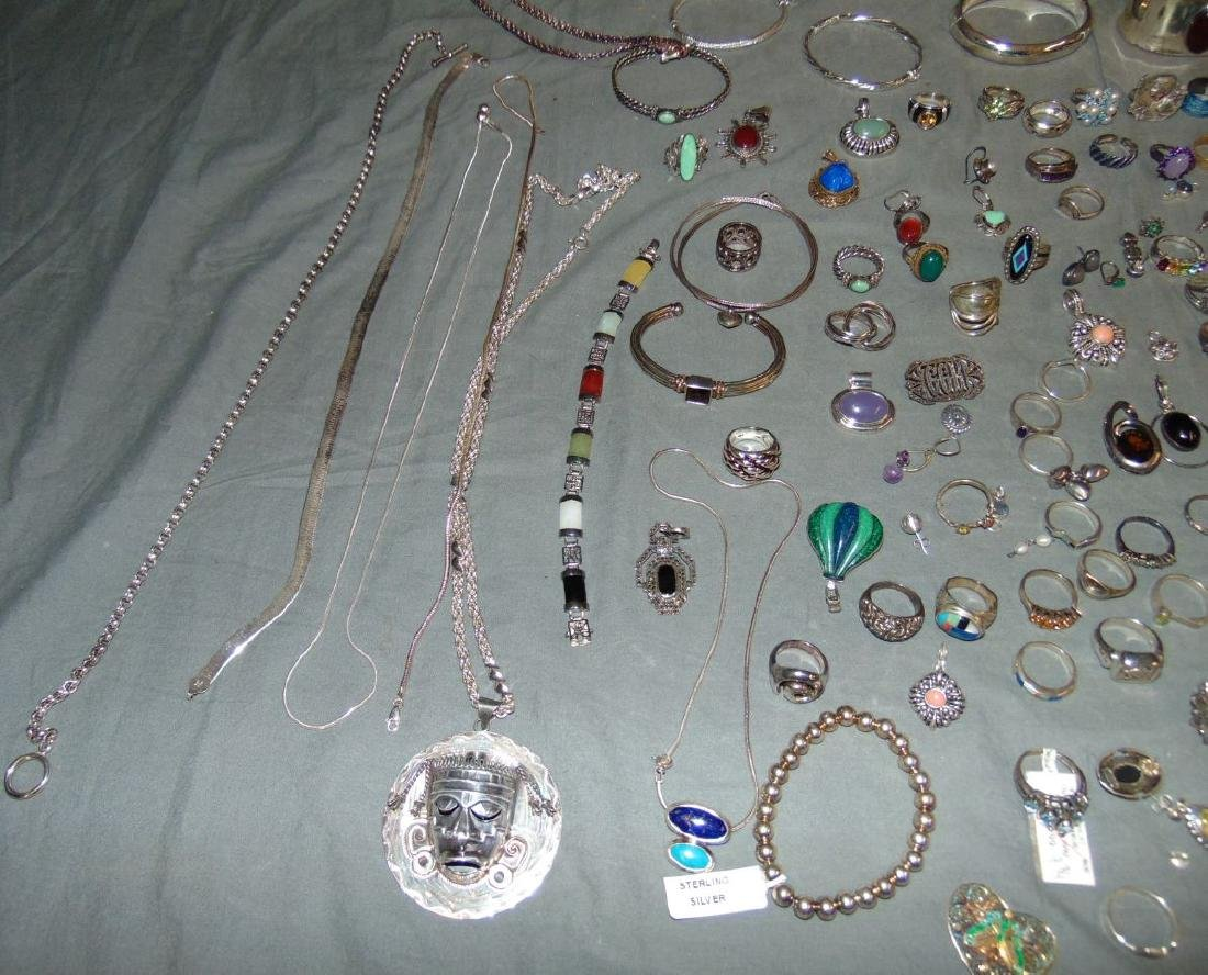 Assorted Silver Jewelry Lot. - 2