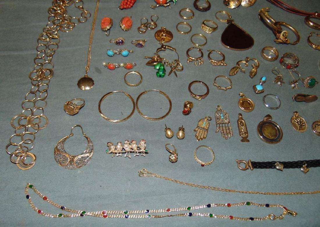 14K Gold Jewelry Lot. - 2