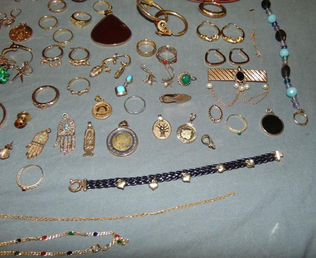 14K Gold Jewelry Lot. - 3