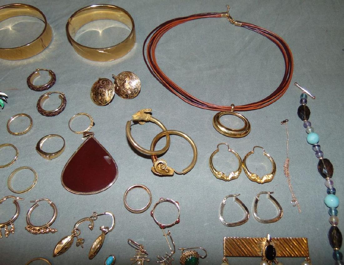 14K Gold Jewelry Lot. - 4