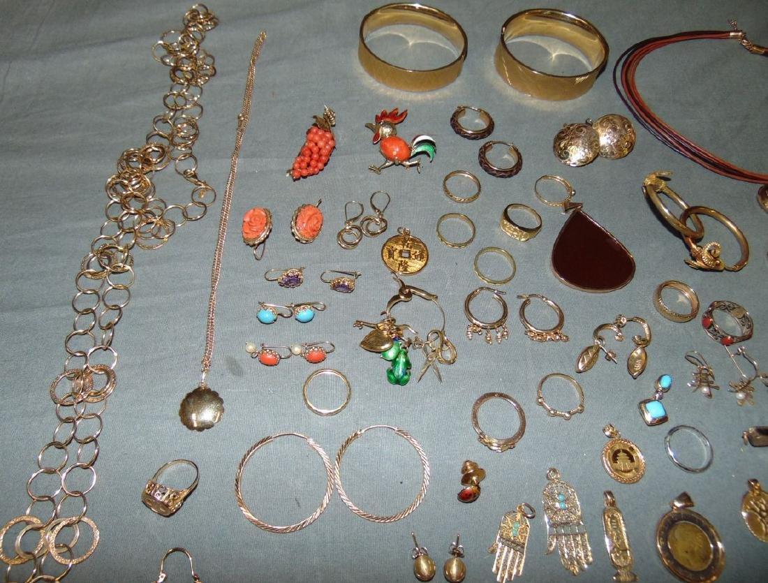 14K Gold Jewelry Lot. - 5