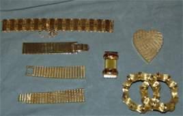 14  18K gold Scrap Jewelry Lot