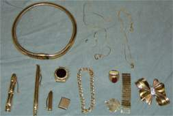 14K Yellow Gold Scrap Items