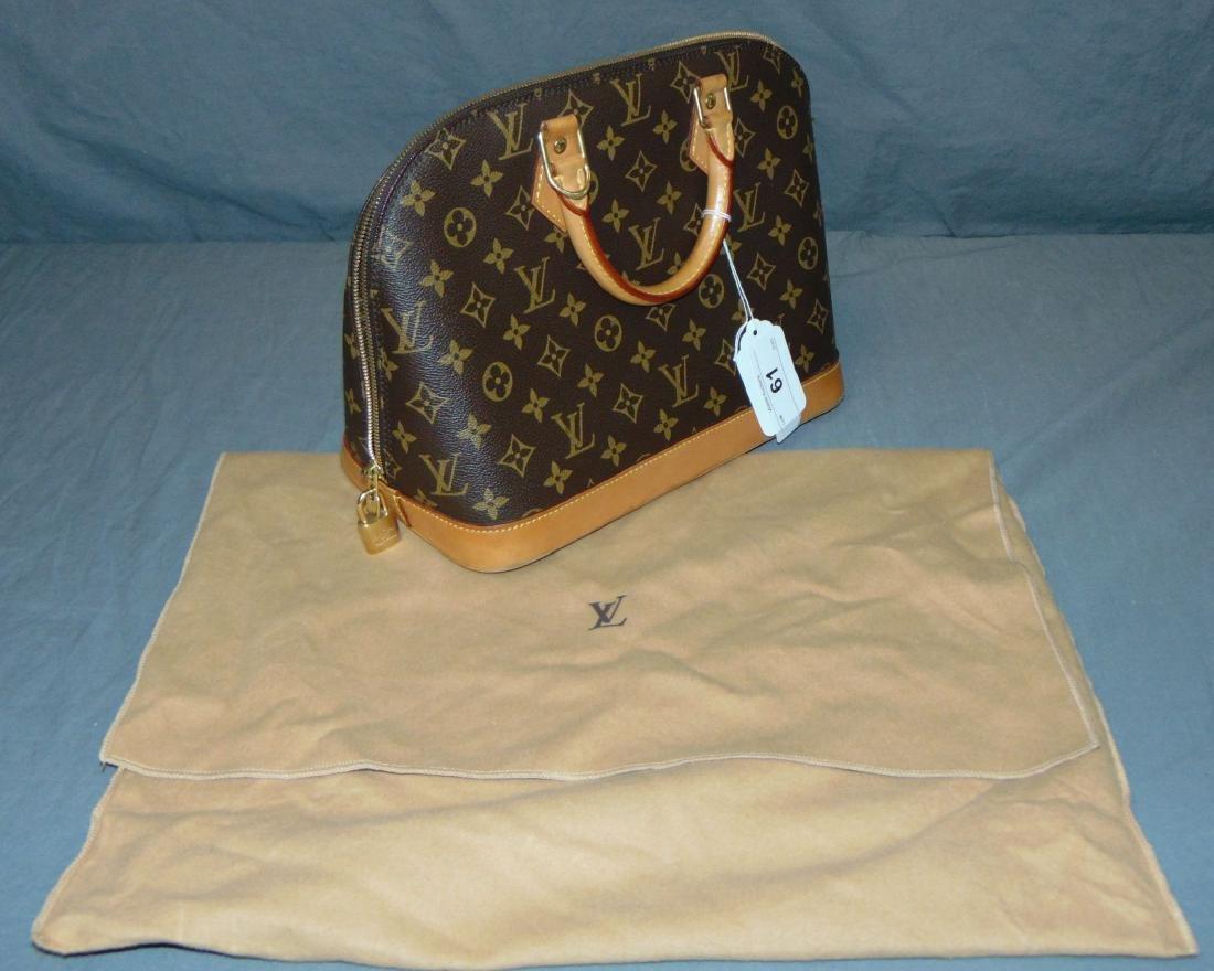 Louis Vuitton Monogram Leather Handbag