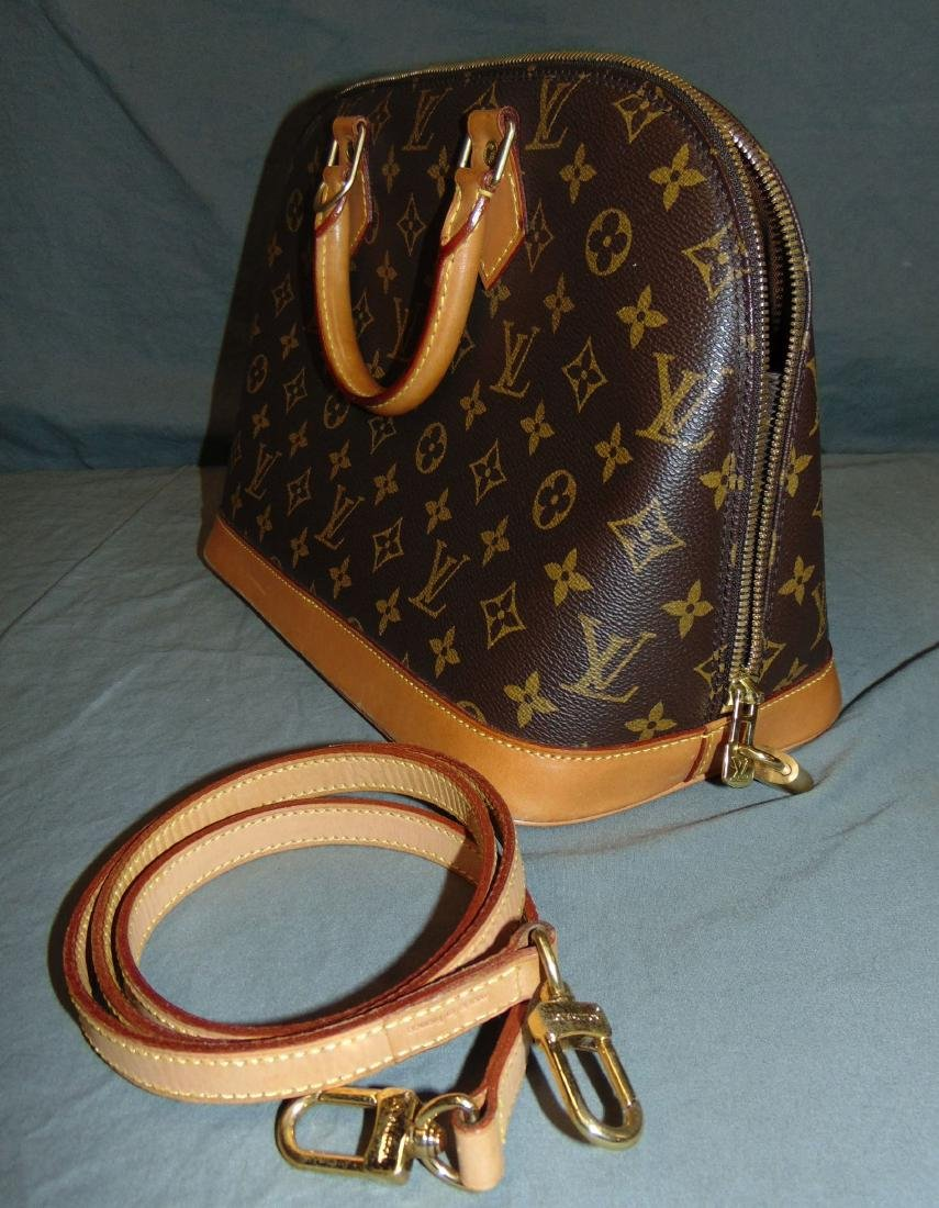 Louis Vuitton Monogram Leather Handbag - 2