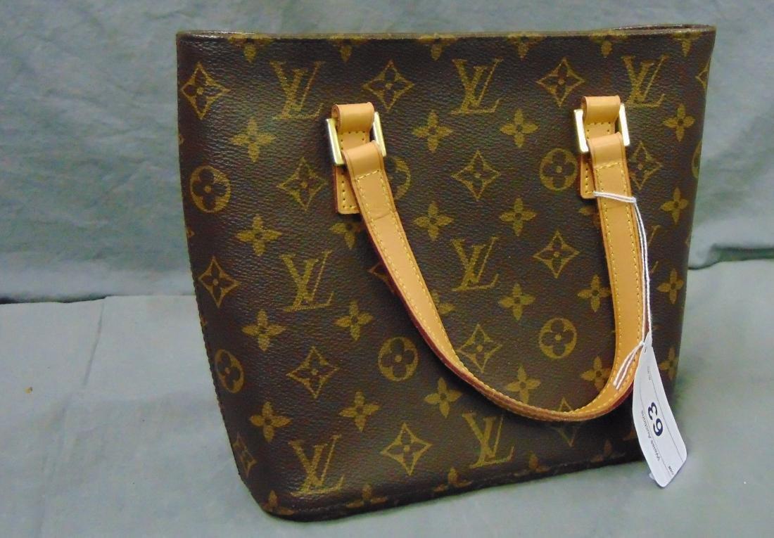 Louis Vuitton Monogram Leather Tote Bag.