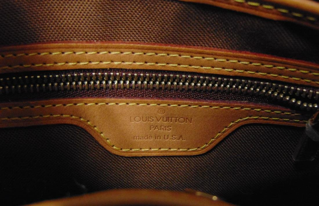 Louis Vuitton Monogram Leather Tote Bag. - 3