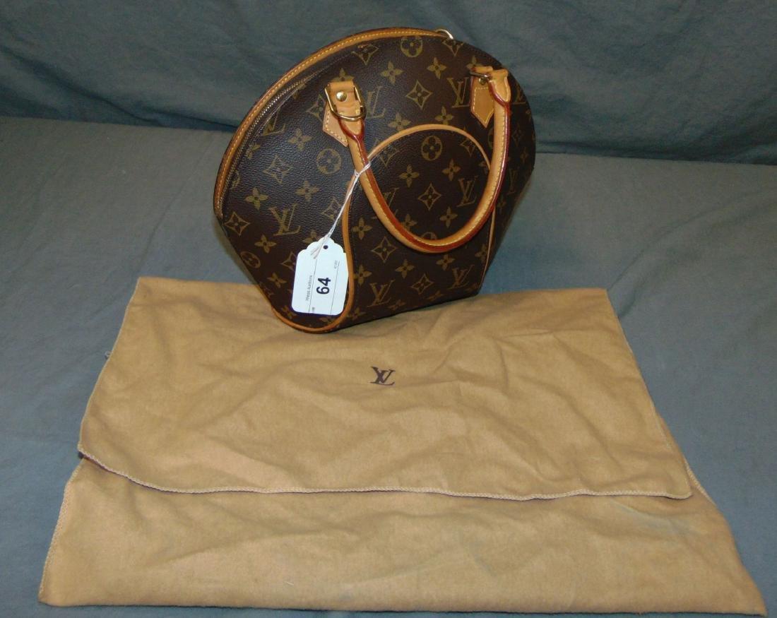 Louis Vuitton Monogram Leather Eclipse Handbag.