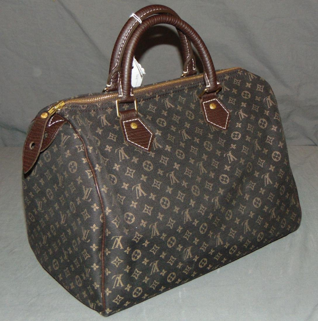 Louis Vuitton Monogram Brown Canvas Handbag