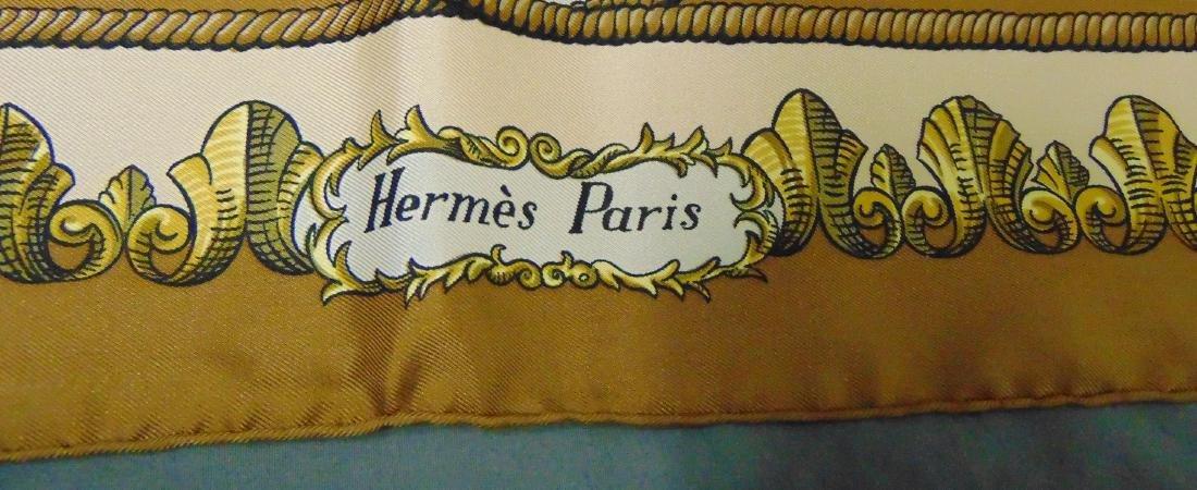 Hermes Silk Scarf.. Lvdovicvs Madnvs. - 2