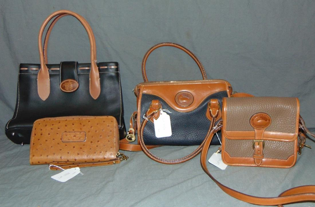 Dooney & Bourke. (3) Handbags and Wallet