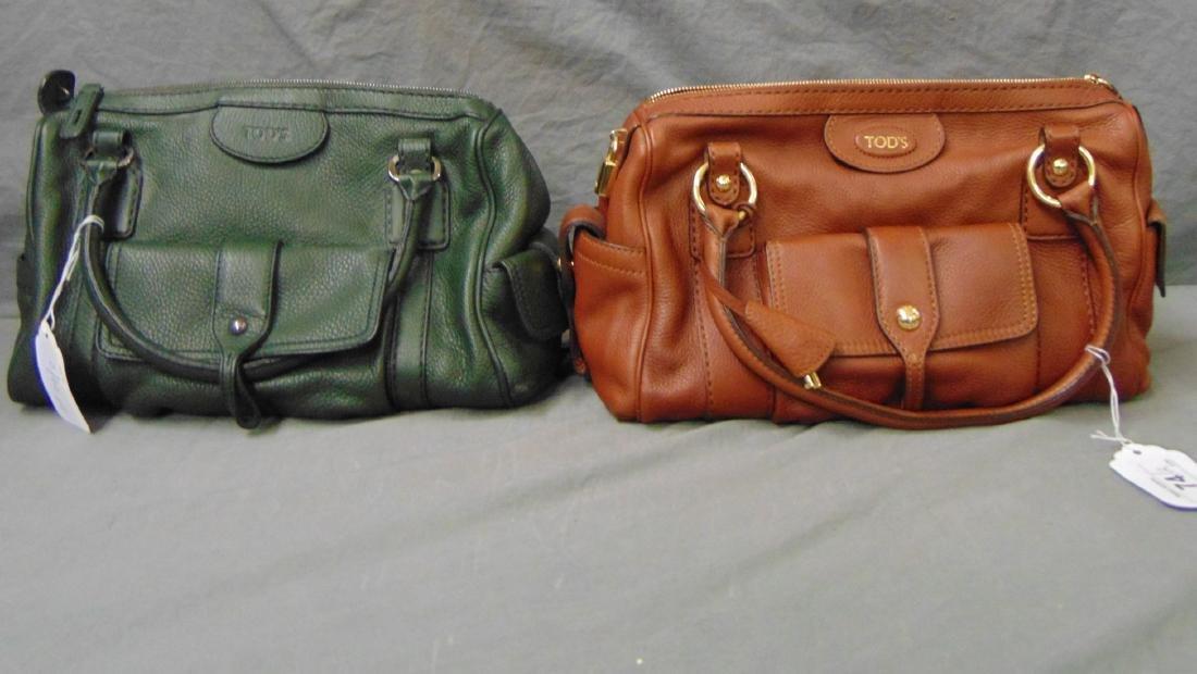 Tods Handbags. Lot of 2.