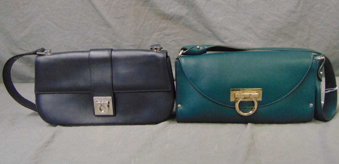 Salvatore Feragamo  Clutch Handbags Lot of 2