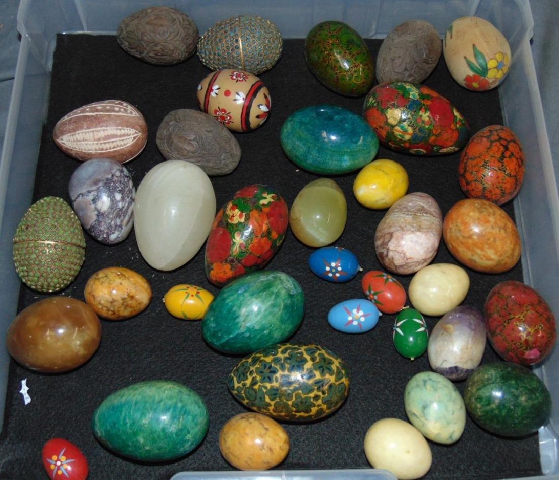 Decorative Eggs. Lot of  35+