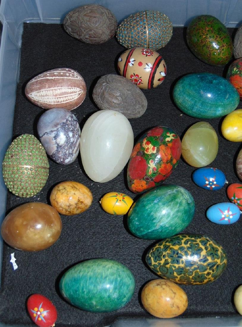 Decorative Eggs. Lot of  35+ - 2