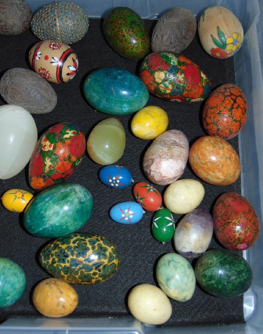 Decorative Eggs. Lot of  35+ - 3